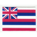 Patch embroidery and textile FLAG HAWAI 4CM x 3CM