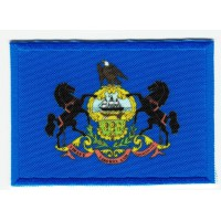 Patch embroidery and textile FLAG PENNSYLVANIA 7CM x 5CM