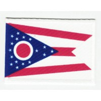 Patch embroidery and textile FLAG UTAH 4CM x 3CM