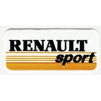 Parche bordado RENAULT SPORT AMARILLO 25cm x 11cm