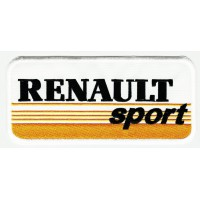 Patch embroidery RENAULT YELOW SPORT 25cm x 11cm