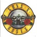 Parche textil 30 GUNS & ROSES 20,5cm x 19cm