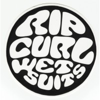 Parche textil y bordado RIP CURL 7,5cm