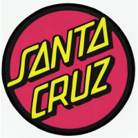 SANTA CRUZ textile embroidery patch 7.5cm