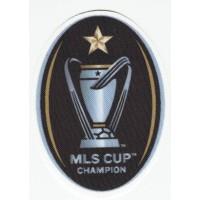 Textile patch MLS CUP CHAMPION 6CM X 8,5CM