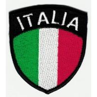 Parche bordado ESCUDO ITALIA 5cm x 6cm