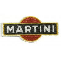 Parche textil MARTINI 9cm x 4cm