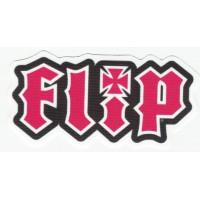 Parche textil FLIP 9cm x 4cm