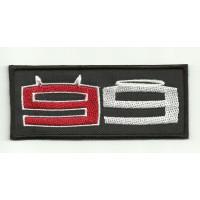 Patch embroidery 99 JORGE LORENZO 10cm x 4cm