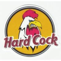 Parche textil HARD COCK 8.5cm x 8cm