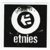 Textile patch ETNIES 5.5cm x 5.5cm