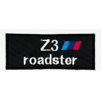 Parche bordado BMW Z3 ROADSTER 9cm x 3,5cm