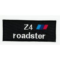 Parche bordado BMW Z4 ROADSTER 9cm x 3,5cm