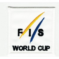 Embroidery patch INTERNATIONAL SKI FEDERATION 5cm x 5cm