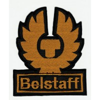 Embroidered patch BELSTAFF PROFILED 6cm x 7cm