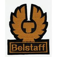 Parche bordado BELSTAFF PERFILADO 8cm x 9,5cm