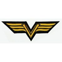 Patch embroidery VULCAN 17cm x 6cm