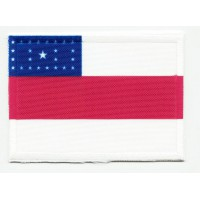 Patch embroidery and textile FLAG AMAZONAS 4cm x 3cm