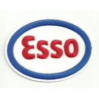 Parche bordado ESSO 7,5cmx 5,5cm