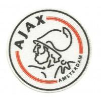 Parche textil AJAX AMSTERDAN 6,5cm x 6,5cm