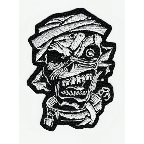 embroidery patch IRON MAIDEN 6cm x 8cm