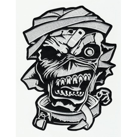embroidery patch IRON MAIDEN 18cm x 24cm