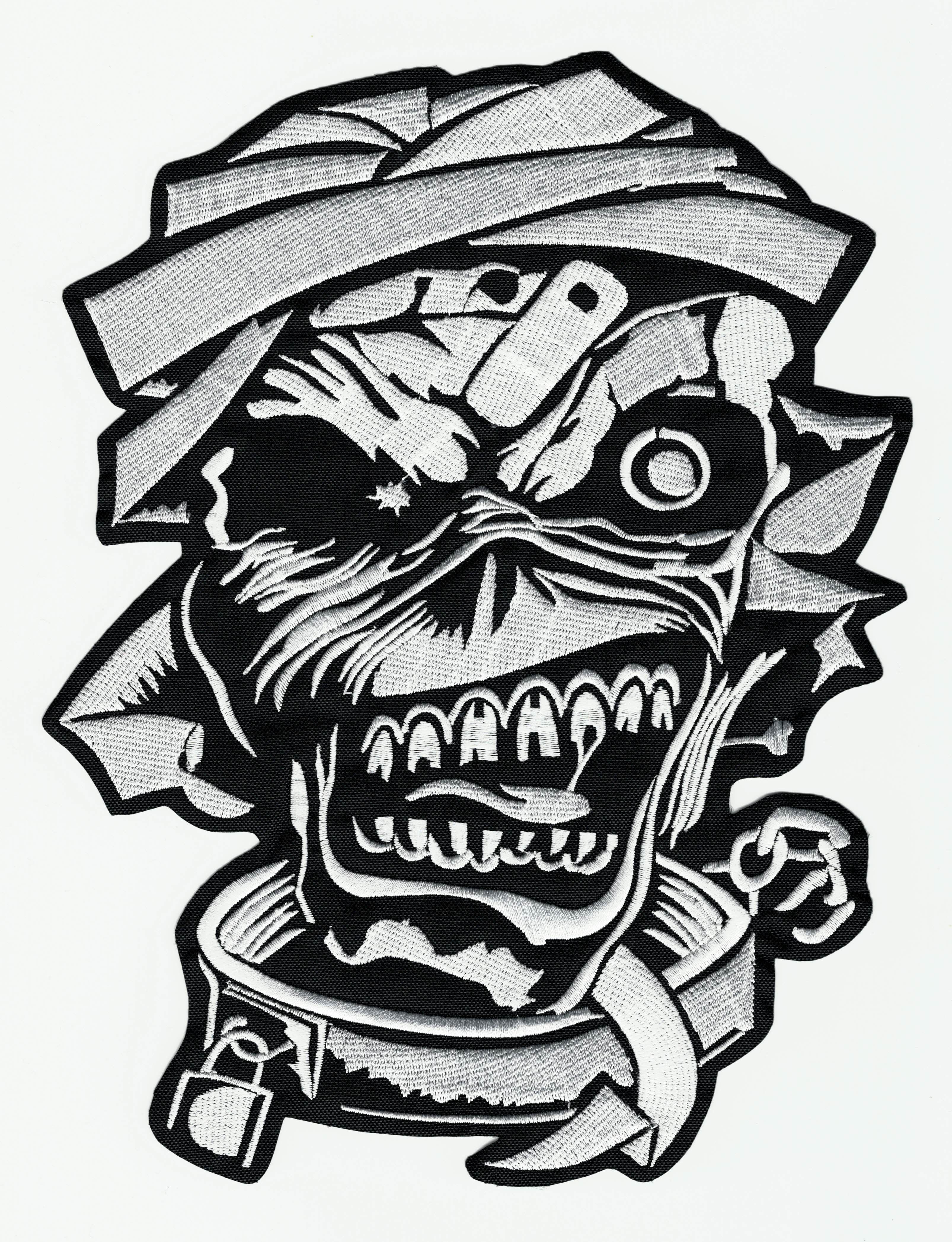 Embroidered Patch IRON MAIDEN