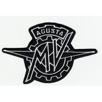 Patch embroidery LOGO AGUSTA 11,5cm x 7cm