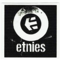 Textile patch ETNIES 5,5cm x 5,5cm