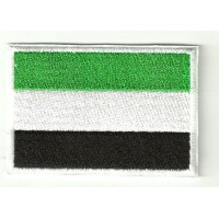Patch embroidery FLAG EXTREMADURA 7CM X 5CM