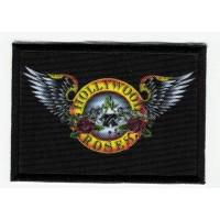 Patch embroidery and textile FLAG BLACK SABBATH 7cm x 5cm