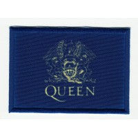 Patch embroidery and textile FLAG QUEEN 7cm x 5cm
