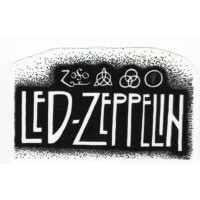 Textile patch LED ZEPPELIN 11CM X 6.5CM