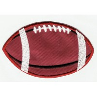 embroidery patch FOOTBALL 9cm x 5,5cm