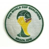 Textile patch FIFA WORLD CUP QUALIFIERS BRAZIL 2014 8,5cm