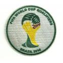 Parche textil FIFA WORLD CUP QUALIFIERS BRASIL 2014 8,5cm