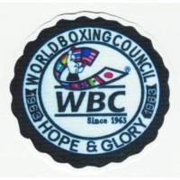 Parche textil WBC WORLD BOXING COUNCIL 7,5cm