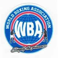 Patch textile WBA WORLD BOXING ASSOCIATION 7,5cm