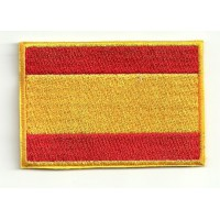 Patch embroidery FLAG SPAIN 4CM X 3CM