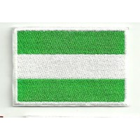 Patch embroidery FLAG ANDALUCIA 4CM X 3CM