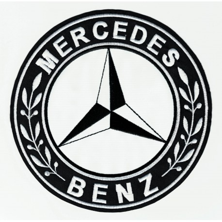 Parche bordado MERCEDES BENZ 7,5cm