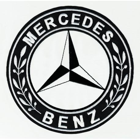 Parche bordado MERCEDES BENZ 17cm
