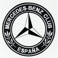 Parche bordado MERCEDES BENZ CLUB ESPAÑA 7,5cm