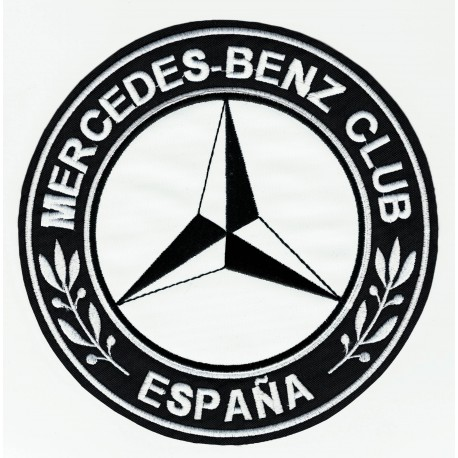 Parche bordado MERCEDES BENZ CLUB ESPAÑA 4,5cm