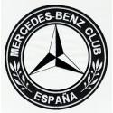 Parche bordado MERCEDES BENZ CLUB ESPAÑA 4,5cm