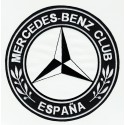 Patch embroidery MERCEDES BENZ CLUB ESPAÑA 4,5cm