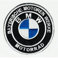Patch embroidery BMW BAYERISCHE 7.5cm