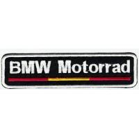 Parche bordado BMW MOTORRAD BANDERA 12cm x 3cm