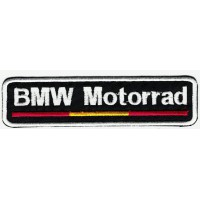Patch embroidery BMW MOTORRAD FLANG 12cm x3 cm