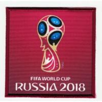 Parche bordado y textil FIFA RUSSIA 2018 7cm x 7cm